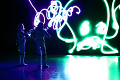 Who you gonna call ? (Stfan) Tags: lightpainting toy actionfigure starwars ghost stormtroopers haunted stormtrooper figurine ghostbusters hunt fantme hasbro moviestars stormtroopers365