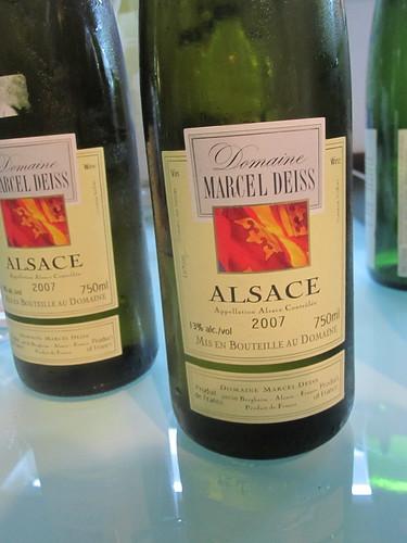 Domaine Marcel Deiss Alsace 2007