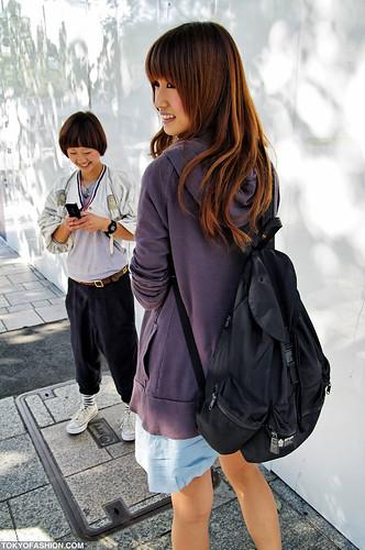 Smiling Tokyo Street Fashion