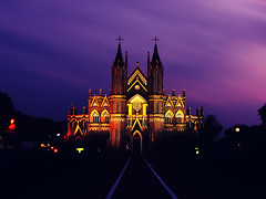 Fit for a king (2k Photography) Tags: blur church night evening nd caste 2k rituraj ~2|{~ pushpdeeppandey