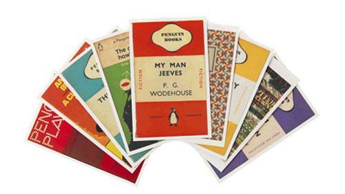 Penguin postcards_Design Crush