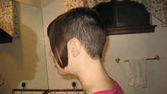 IMG_0871 (raiH enaS) Tags: haircut hair brittany shaved smoking short shorthair buzzednape