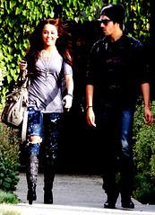 Joe hanging with Miley (emilaysjonaspics (Yay Demi)) Tags: joe cyrus jonas miley joley