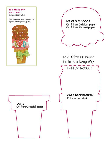 4347650252 d59b8d98db Throwback Thursday: Ice Cream Shaped Card