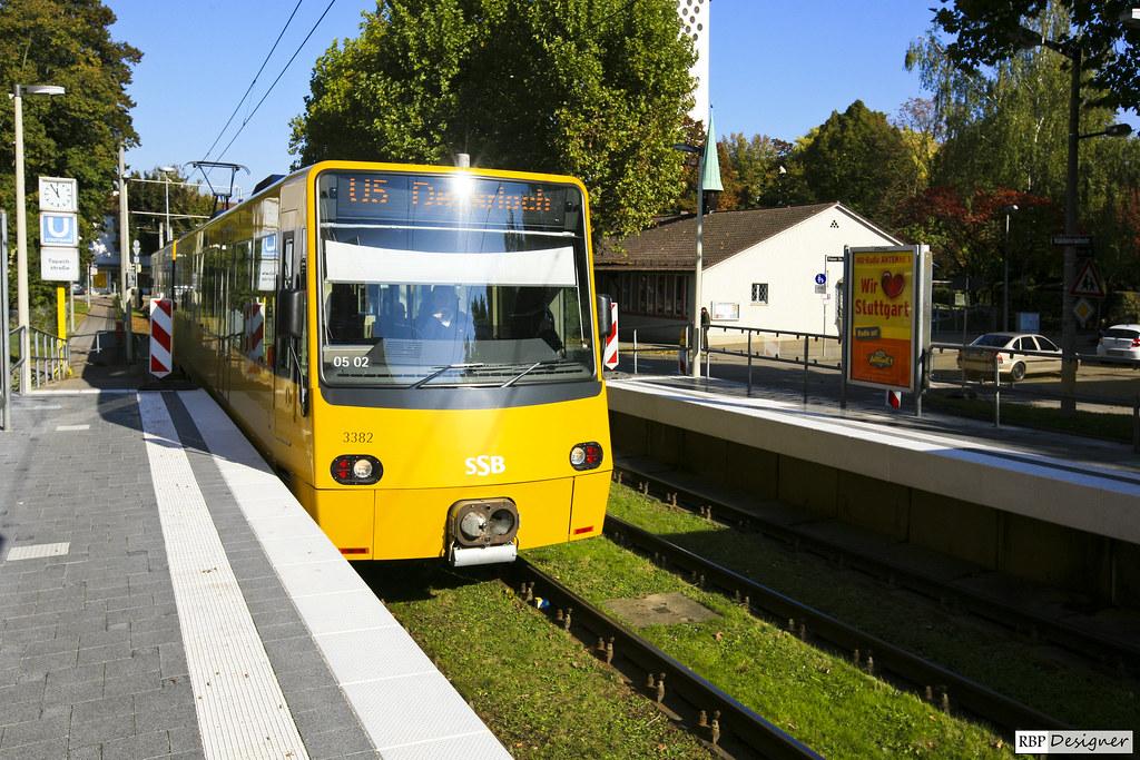 Untergrund-Bahn Stuttgart - Tapachstraße