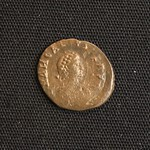 "<b>394 Obverse</b><br/> <a href=""http://en.wikipedia.org/wiki/Arcadius"" rel=""nofollow""><u><b>Arcadius</b></u></a> Reign: AD395 - 408 This is the latest coin from the Roman Imperial Era that exists in the Luther College Collections, coming from the 5th century. Arcadius was emperor of the Eastern Roman Empire, with his brother Honorius as emperor of the West. In some ways he was a puppet emperor, being controlled by his Praetorian Prefect, Arcadius wanting to be more of a pious Christian than an emperor of Rome.  Donated by Dr. Orlando ""Pip"" Qualley <a href=""http://farm5.static.flickr.com/4067/4351360347_9f15143d7b_o.jpg"" title=""High res"">∝</a>"