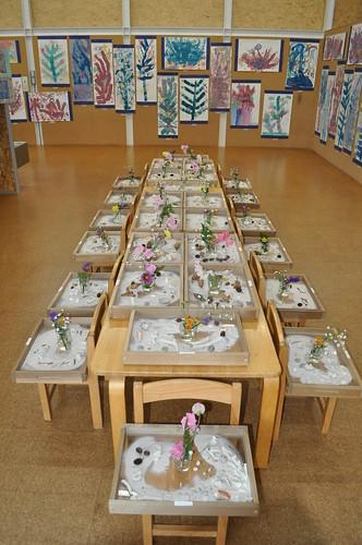 幼稚園の芸術祭