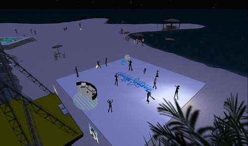 japan resort event area