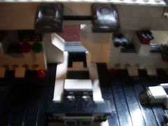 Queueing to leave the hangar III (The Legonator) Tags: lego microscale