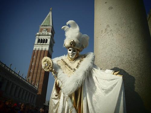 White venice costume