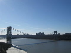 Hudson Heights (bee721) Tags: nyc hudsonriver georgewashingtonbridge hudsonheights