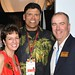 Mark and Liz Brown and Anthony Munoz