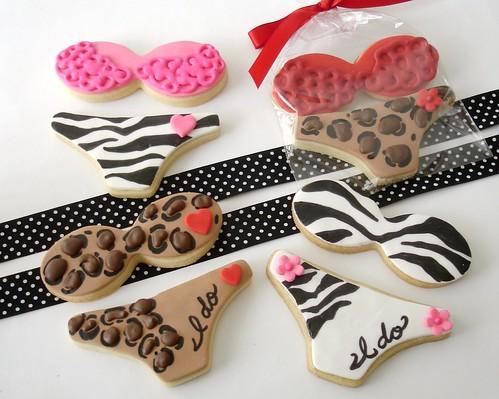 Wild Lingerie cookies