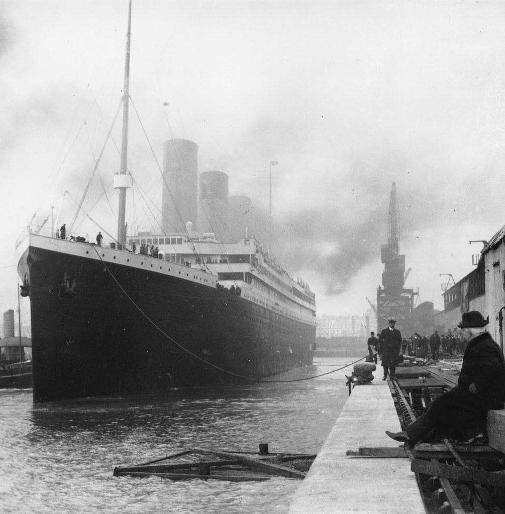 titanic-in-dock