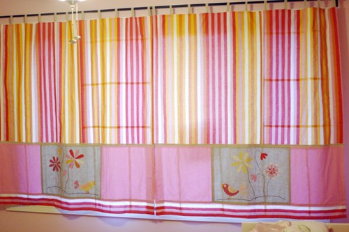 Aria's Wildflower Curtains