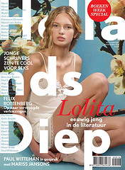 Hollands Diep cover Lolita (jaap!) Tags: art magazine design cover director weekly hollands jaap biemans diep coverdesign blommers schumm