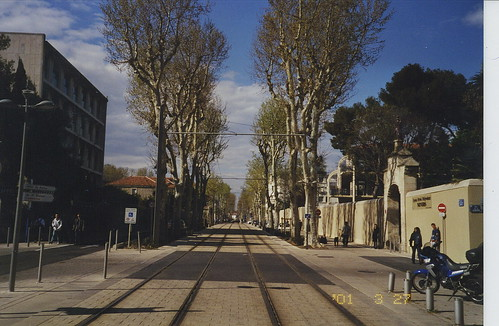 2001-03-27 Montpellier France tramway view