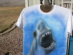IMG_1810 (airbrush obsession) Tags: art toxic america skulls real fire star shark paint neon bass guitar flag clown tiger tailgate wars tiburon airbrush vmax klown catain