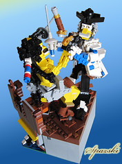 Gobernor Vs Captain Pirate 2 (_Spazski_) Tags: soldier lego contest pirate captain vs challenge gobernor