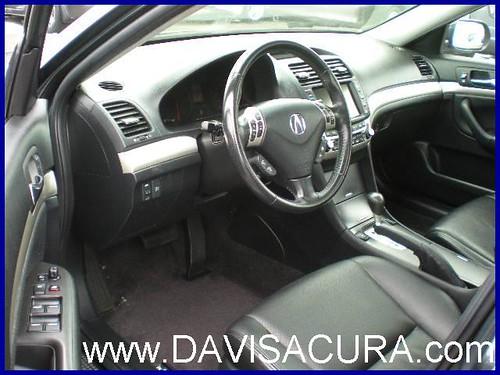 Acura Tsx 2008 Interior. 2007 Acura TSX Navi (interior)