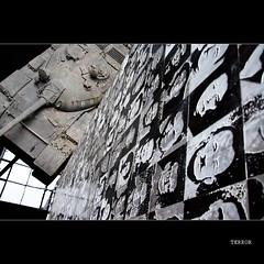 Budapest's House of Terror (Nora & Valdas) Tags: history museum war europe hungary tank pentax secret military victim nazi budapest oppression communist communism terror k10 kgb magyarorszag occupation nazism