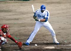 DSC_5676 (dragonsfanatic) Tags: camp training geotagged spring baseball dragons chunichi okinawa  eagles goldeneagles ballpark chatan 2010  rakuten        geo:lat=26311680 geo:lon=127758360