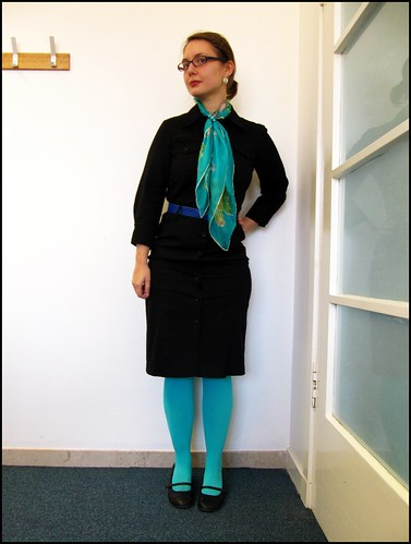 23.2.10: black and turquoise
