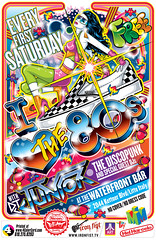 I Love The 80s at the Waterfront Bar Flyer Art [DJ Junior The DiscoPunk] (Mel Marcelo) Tags: vectorart eighties clubflyer adobeillustrator ironfist waterfrontbar ilovethe80s melito melmarcelo customprintingservices djjuniorthediscopunk