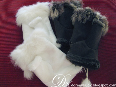 Fur gloves1