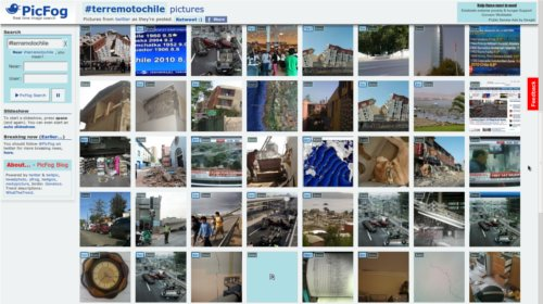 Fotografias terremoto Chile