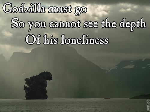 gozilla haiku