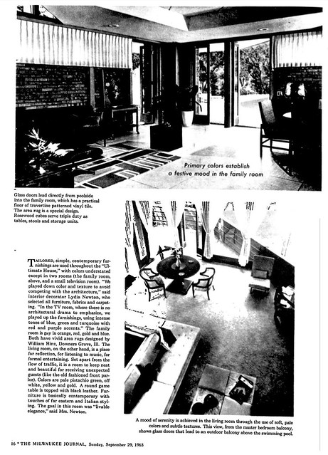 Milwaukee Journal - Ultimate House - 1963 (7 of 11)
