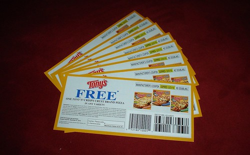 Tony's Pizza Coupons