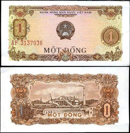 VIETNAM 1 DONG 1976 P80