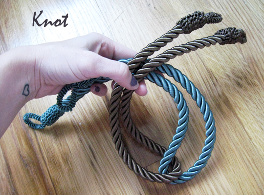 DIY Rope Necklace 2