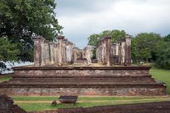 Ruin (Vladislav Sournine) Tags: old trip travel vacation sky ruin adventure jungle srilanka  polonnaruwa