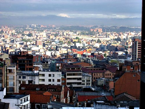 Bogota (by: Hector Mesa, creative commons license)
