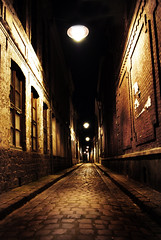 Lille by night (Xavier Cloitre) Tags: street france night de photography photo photographie perspectives ruelle fotografia lille pas nuit calais nord pavs rijsel colorphotoaward nikonflickraward nikonflickrawardgold xaviercloitre