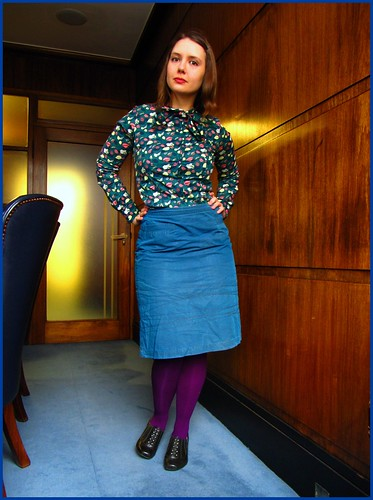 24.2.10: petrol and purple, styled by missa