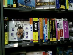 java books in waterstones by osde8info, on Flickr