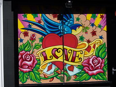 Love (lydia_shiningbrightly) Tags: uk streetart love shop tattoo bristol bedminster tattootime