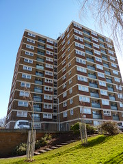 Gaywood House, Bristol (lydia_shiningbrightly) Tags: uk architecture bristol balcony bedminster flats highrise housing towerblock councilhousing housingestates bristolcitycouncil