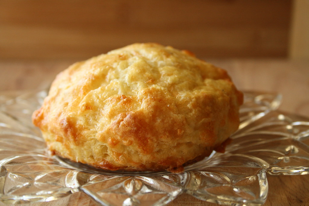 Are these the perfect Cheddar Cheese Biscuits or what?! The colour ...