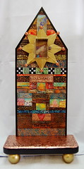 Altar of Contemplation (desertdreamstudios) Tags: glass polymerclay copper charms acrylics metals