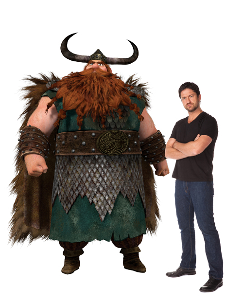 How to Train Your Dragon Gerard Butler