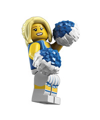 8683 Minifigures CheerLeader