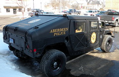 "Aberdeen Police SWAT (bloo_96 ""Daniel DeSart"") Tags: south police special aberdeen hummer dakota tactics swat weapons apd tactical vehilce"