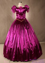 Wouldn't you just love to wear this? (Sabrina Satin1) Tags: feminine sissy crossdresser ballgown crossdressingfantasy