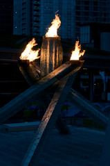 DSC_5085 (the PhotoPhreak) Tags: winter vancouver whistler fire symbol flame olympic cauldron 2010 paralympic
