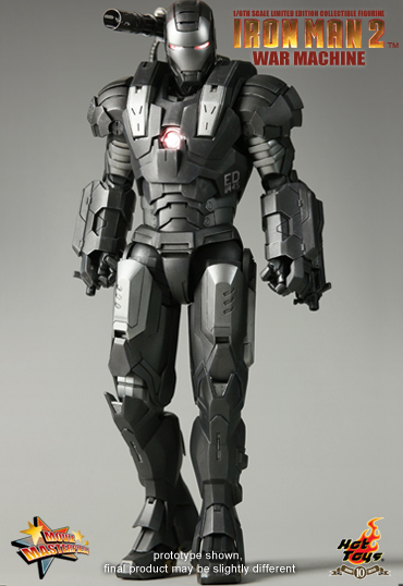 War Machine Hot Toys Limited Edition